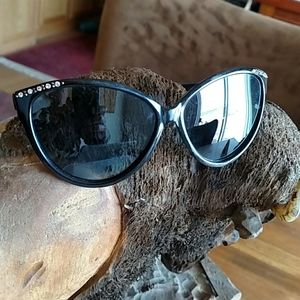 A.J. Morgan Sunglasses with Rhinestone Details